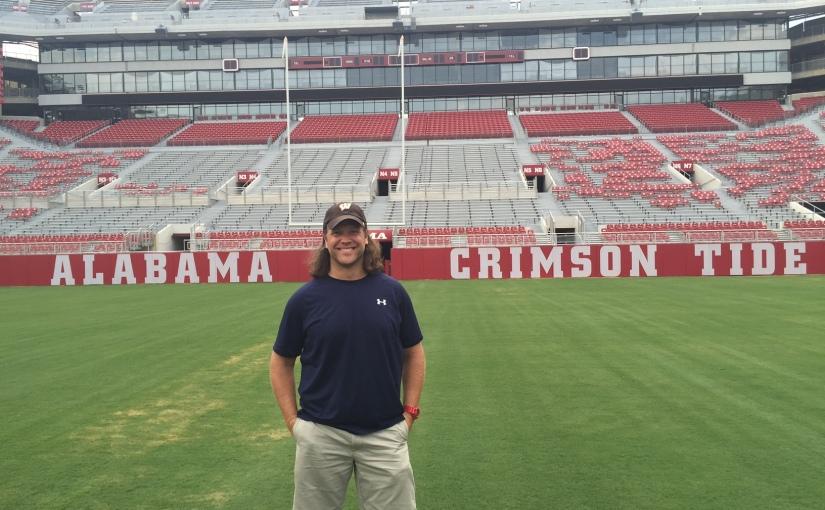 My little slice of Alabama's championshipseason.