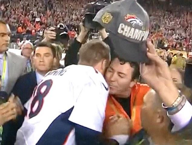 Peyton and Papa