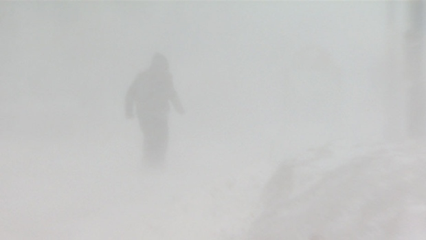 Why walking in a blizzard is so good for you.