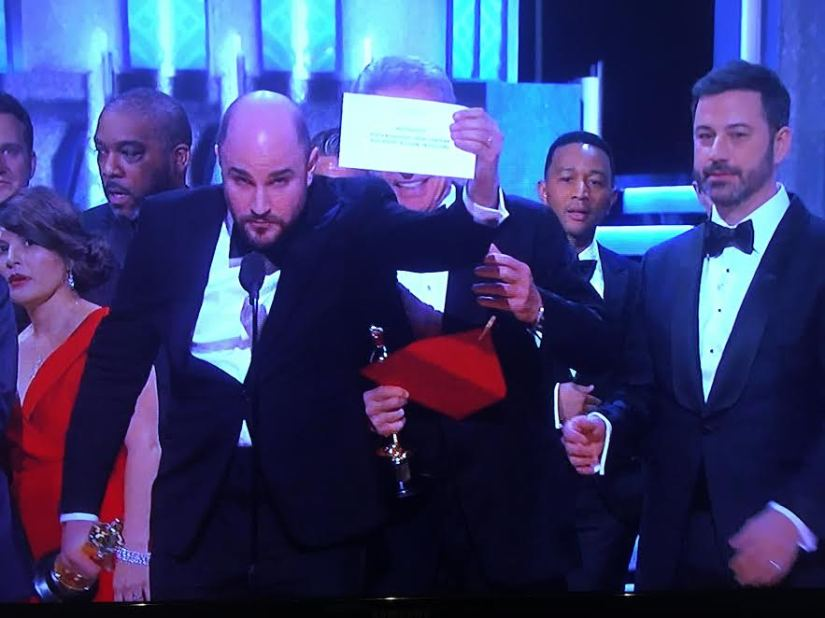 What we can all learn from the Best Picture snafu at theOscars.