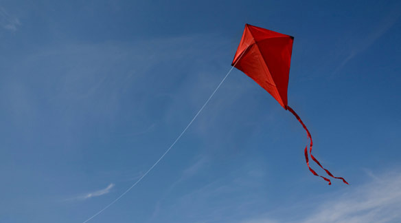 Want to be an entrepreneur? Start by flying a kite.
