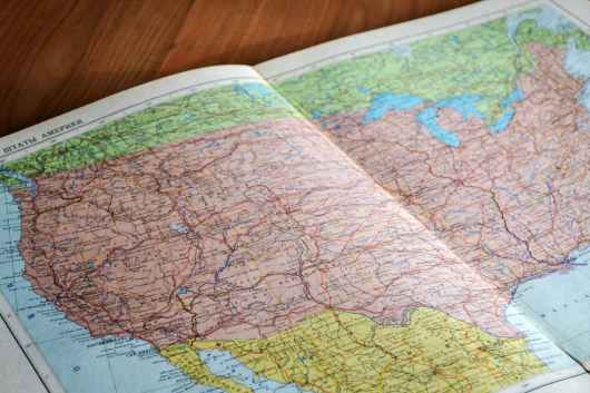 map maps american book