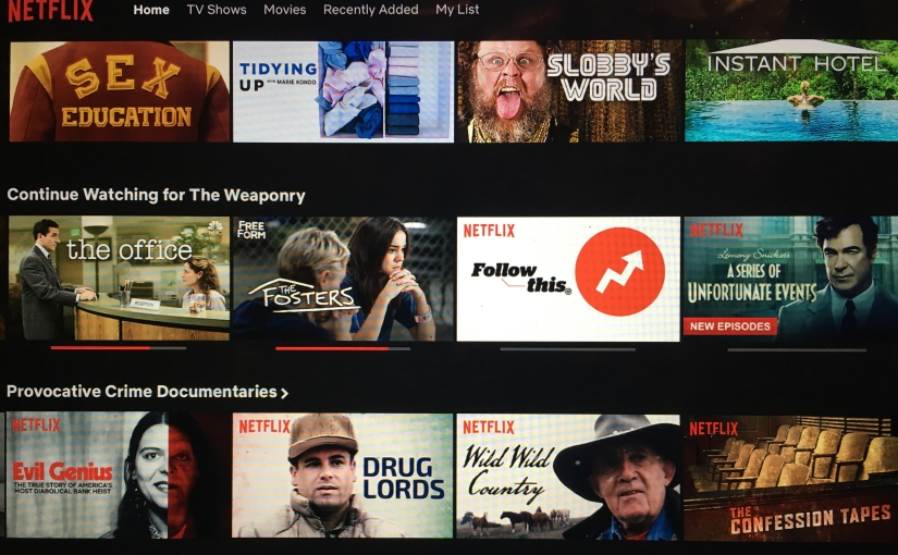 4 Netflix shows that will inspire you to think in newways.