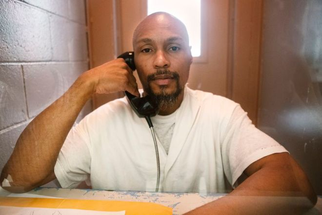 Prison interview