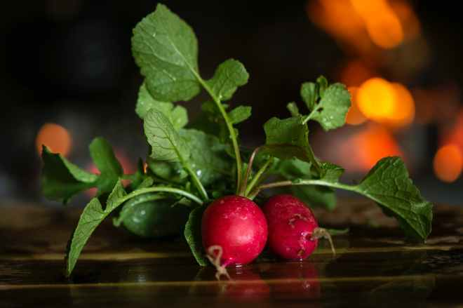 close up photo of radishes
