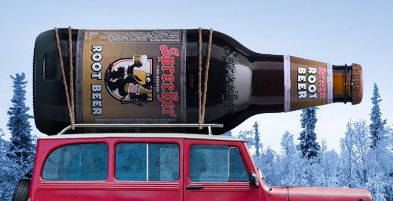 It's time to enjoy a taste of the holidays, with Sprecher.