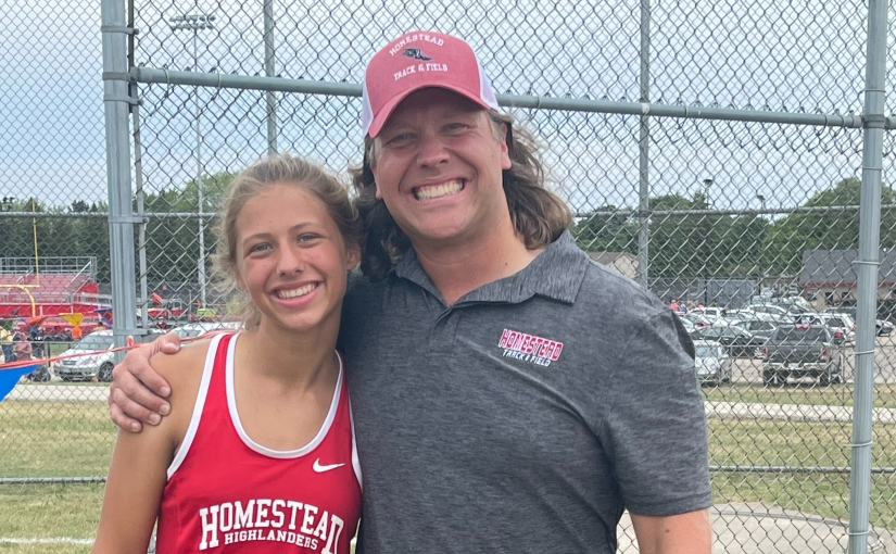 A father-daughter track and fieldstory.